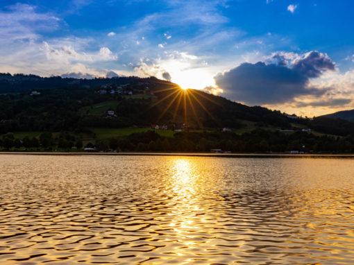 Sonnenuntergang am Stubenbergsee (c) Harry Schiffer